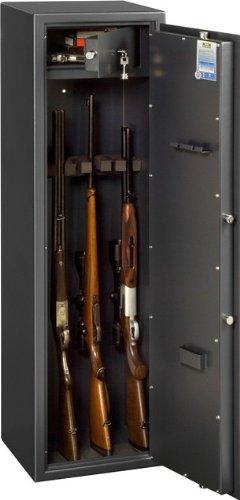 Burg-Wchter-Waffenschrank-mit-abschliebarem-doppelwandigem-Innenfach-1-Stck-Ranger-W-7-AB-S