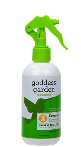 Organics Spf 30 Sunscreen (Goddess Garden Organic Sunscreen - Natural Spf 30 Trigger Spray - 8 Oz)