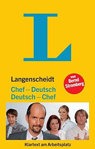 Langenscheidt´s Chef/Deutsch von Bernd Stromberg