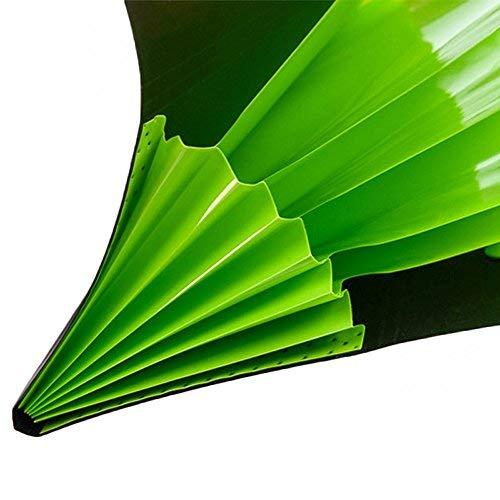 Aibada A4 Fächermappe, Akkordeon-Stil, mit 5 Taschen, zufällige Farbe, 4 Stück