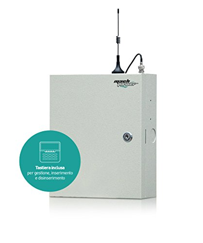 Mach Power AS-MBCW-038 zentrale Allarme, Grau (Mikrowelle Dual Power)