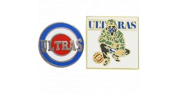 ULTRAS Football Hooligans Set Pin Badge: Amazon.it: Sport e
