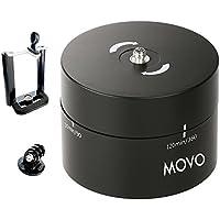 Movo Photo MTP2000 testa per treppiede, per time lapse e panoramica 360°/ 120 minuti, per fotocamere DSLR, GoPro e smartphones (sostiene fino a 2kg)