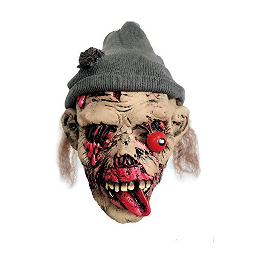 Sloth Kostüm Maske - Vektenxi Premium-Qualität Neuheit Latex Creepy Horror