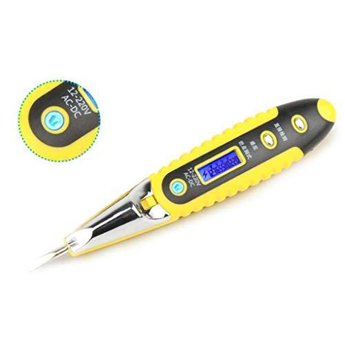 beIilan Multifunktions-220V DIY elektrischer Tester Bleistift Blue Screen Tester Detektor-Feder mit Beleuchtung-Funktion -