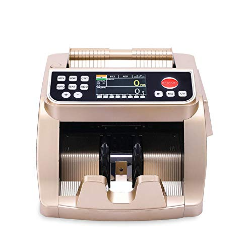Metis Cash Counting Machine & Duplicate Note Detection for All New & Old Notes, Latest Model, Heavy Duty Machine