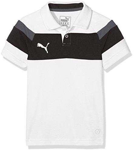 Puma Kinder Polo Spirit II, White-Black, 152, 654660 04