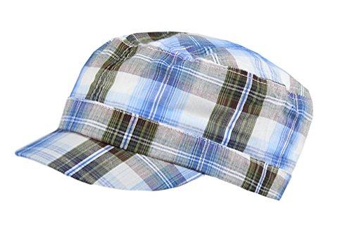 Galeja Jungen Kinder Sommer Mütze Armycap Kubacap Schrimmütze Onesize 55/57 100% Baumnwolle (Piraten-baseball-jersey)