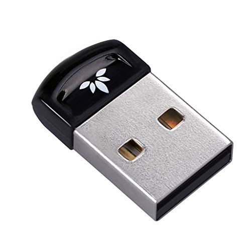 Avantree DG40SA USB Bluetooth 4.0 Dongle Stick Adapter für PC & Computer NATIVE Windows 10 (NICHT für UPGRADED Systeme), PLUG & PLAY, Unterstützt BT Kopfhörer, Lautsprecher, Mäuse, Tastatur