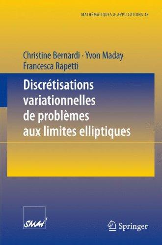 Discr¿¿tisations variationnelles de probl¿¿mes aux limites elliptiques