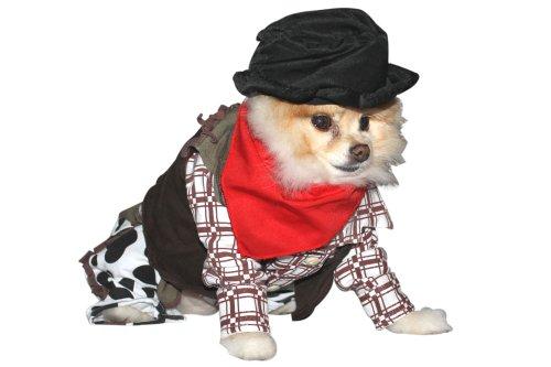 Up Collection Cowboy Hund Kostüm, Klein (West Pudel Highland Terrier,)