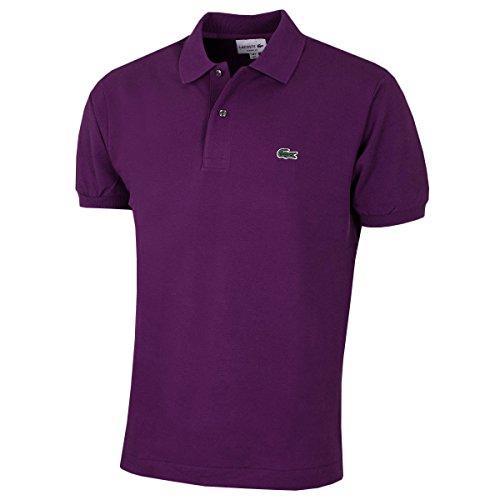 Lacoste Herren L1212 Poloshirt, Violetto (Violett), S (Herstellergröße: 3)