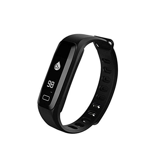 Fitness Armband,Fitness Tracker mit Herzfrequenz Smart Watch,Herzfrequenz / Schlafanalyse / Kalorienzähler/ SMS / Aktivitätstracker Schrittzähler Fitness Aktivität Tracker Smartwatch,für Android Smartphone Samsung HTC iPhone