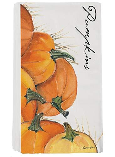 Sullivans Pumpkin Pkg 16 Gästetuch - Pkg-floral Design