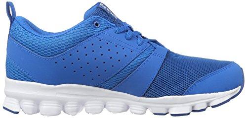 Reebok Hexaffect Sport, Chaussures de Running Entrainement Homme Bleu (Instinct Blue/Collegiate Navy/White)