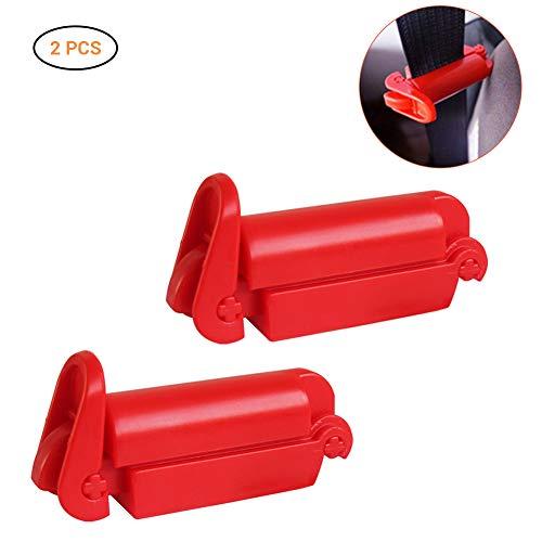 Autositz Brustgurt Clip und Autositz Sicherheitsgurt Clip Schnalle für Babysicherheit 2er Pack