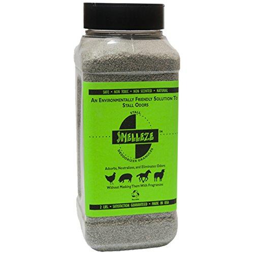 SMELLEZE natur Stall Geruchs Parfum: 50 Lb. Granulat Destroy Stinky Urin Sicher -