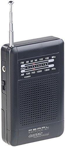 Tragbare Am Fm Mini Radio / (PEARL Mini Radio: Analoges Taschenradio TAR-202 mit UKW- und MW-Empfang (Kleines Radio))