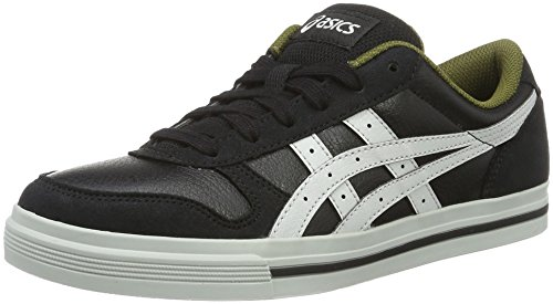 Asics Herren Aaron Sneaker Grau  Schwarz (Black/Light Grey)