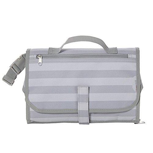 ZXYWW Windel Clutch Mit Wickelauflage Für Baby Kleinkinder Portable Reise Wickelauflage Waterproof Clutch Bag