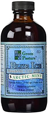 Green Pasture 237 ml Arctic Mint Fermented Cod Liver Oil