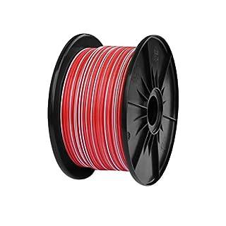 AK-Parts FLRY Fahrzeugleitung 50 Meter 2,50 mm² Rot - Weiß