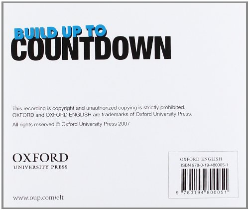 Build Up to Countdown: CD Audio: Class CD