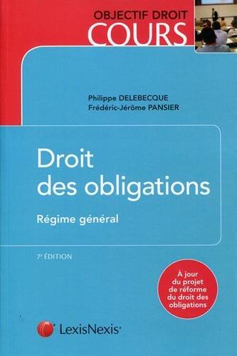 Droit des obligations : Régime général
