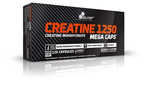 Olimp Sport Nutrition - Creatine Mega Caps Creatina, 120 capsule