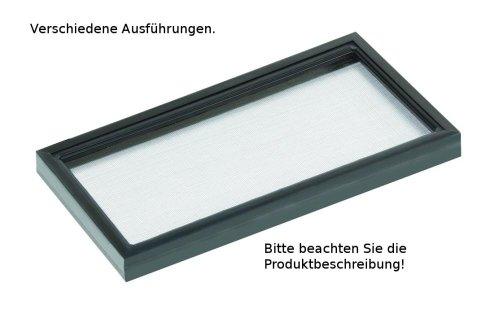 Netzgitterabdeckungen f. Glasbecken, 51 cm x 26 cm