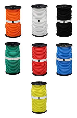 Hummelt® SilverLine-Rope Expanderseil Gummiseil 8mm 10m schwarz