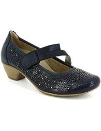 Womens D5006 Closed Toe Heels, Beige, 8.5 UK Remonte