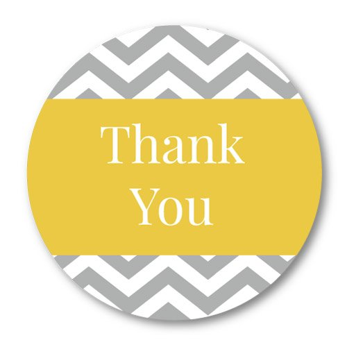 party-thank-you-stickers-yellow-and-grey-chevrons-30mm-diameter-great-for-party-bags-48