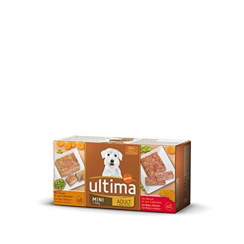 Ultima Comida Húmeda Sublime para Perro Mini Adulto con Buey o Pollo...
