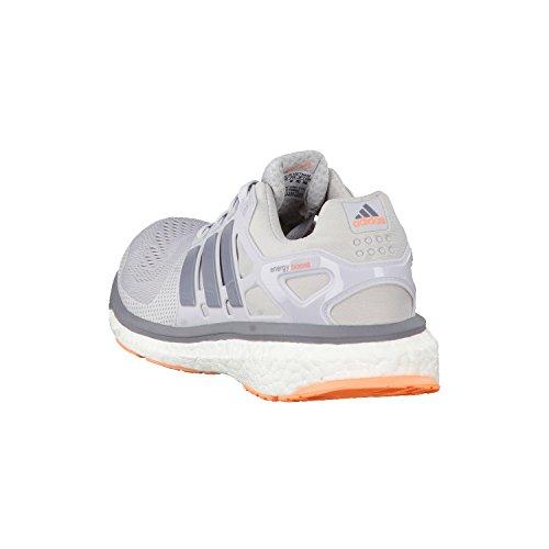 Adidas Energy Boost 2 ESM Light Solid Grey B40900 Laufschuhe Damen Grau