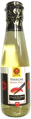 TIGER KHAN Vinagre de Arroz para Sushi 200ml