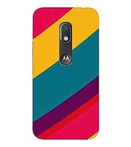 EPICCASE colors Mobile Back Case Cover For Moto Play (Designer Case)