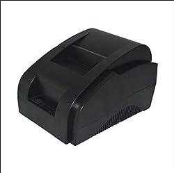 ZJ-5890K High Speed 58 mm(2 Inches) USB Thermal Receipt Printer (Black)