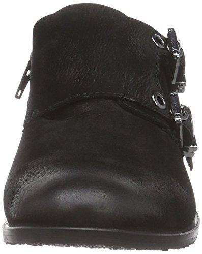 Spm Montblanc Loafer, chaussures bateau femme Noir - Noir
