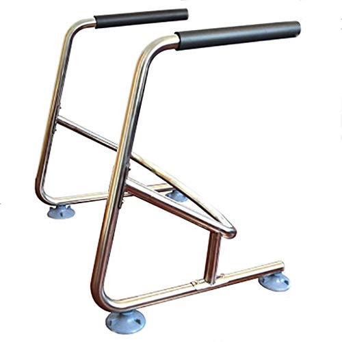 Preisvergleich Produktbild QOVCX Handlauf Badezimmer Edelstahl Handlauf Fortgeschrittene / Behinderte Badezimmer Duschraum Unabhängige Saugnapf Toilettensitz Rahmen Geländer