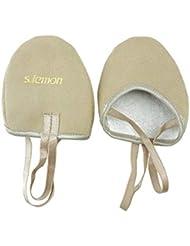 S.lemon Zapatillas Medias de Ballet Baile de Microfibra duraderas Zapatos de Gimnasia rítmica