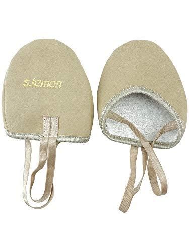 S.lemon Zapatillas Medias de Ballet Baile de Microfibra duraderas Zapatos de Gimnasia rítmica (27-30 EU)