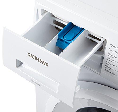 Siemens iQ300 WM14N2A0 Waschmaschine Frontlader / A+++ / 157 kWh/Jahr / 1390 UpM / 7 kg / Weiß / Großes Display mit Endezeitvorwahl / WaterPerfect - 9