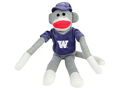 Forever Collectibles NCAA Washington Huskies Shirt Socke AFFE, One Size, Violett (Sock Pants Monkey)