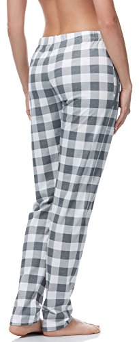 Italian Fashion IF Pantaloni Pigiama per Donna IF180045 Grigio(Drina)