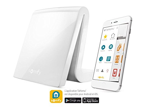 41pB990CklL [Bon Plan Domotique] Somfy - Box Maison Connectée Tahoma