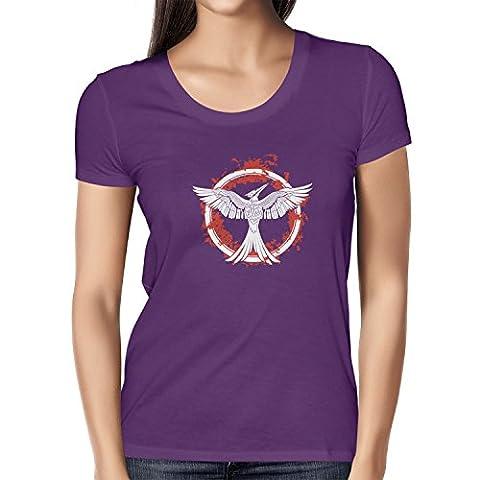 NERDO - Valor - Damen T-Shirt, Größe S, violett