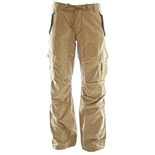 Cargohose mit dem Seilgürtel für Damen 45038 - Premium Qualität Damen Kampfhose aus 100% Baumwolle harter,dauerhafter Körperbau