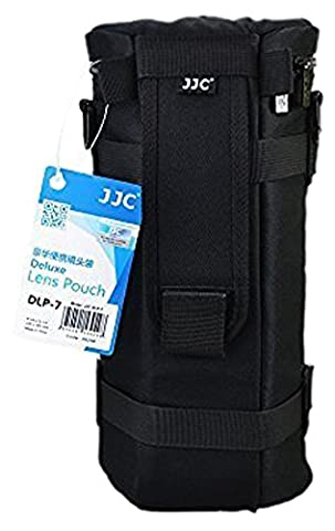 JJC Dlp-7 Deluxe Lens Pouch Sac Coque 130 mm x 310 mm pour Sigma 150–500 mm F5–6.3 DG OS HSM Tamron SP 150–600 mm F/5–6.3 Di VC USD Sigma 150–600 mm F5–6.3 DG OS HSM | C Sigma 150–600 mm F5–6.3 DG OS HSM (XXL)