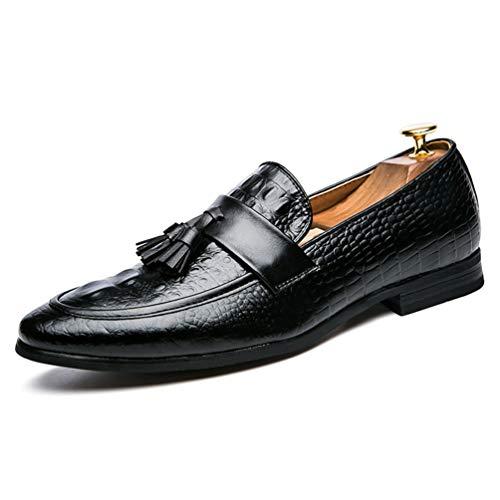 Männer Oxford Shoes Leder Formale Kleidung Büro Schuhe Mode eleganten Tassel Schuhe